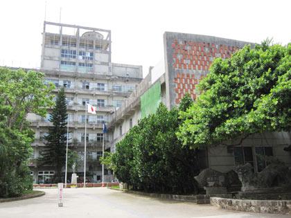 那覇市役所|正面入り口
