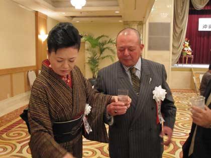山城会長と名護副会長